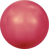 Ronde nacrée 5810 4mm Crystal Neon Red Pearl x20 Swarovski