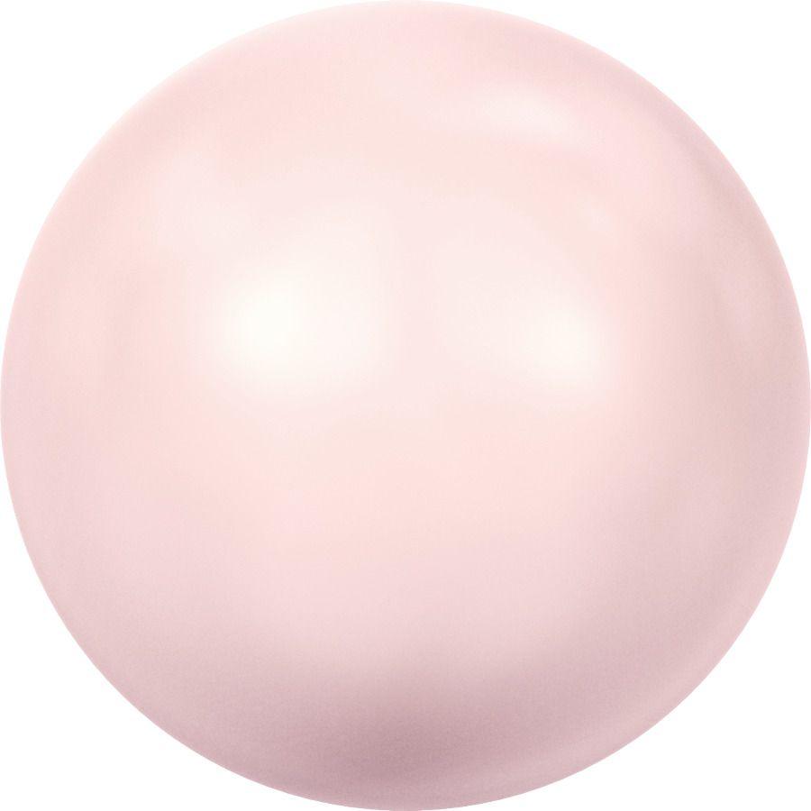 Ronde nacrée 5810 4mm Crystal Rosaline Pearl x20 Swarovski