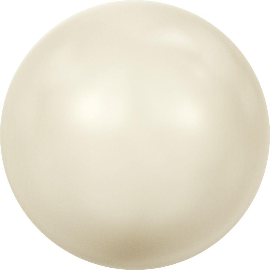 Ronde nacrée 5810 6mm Crystal Cream Pearl x10 Swarovski