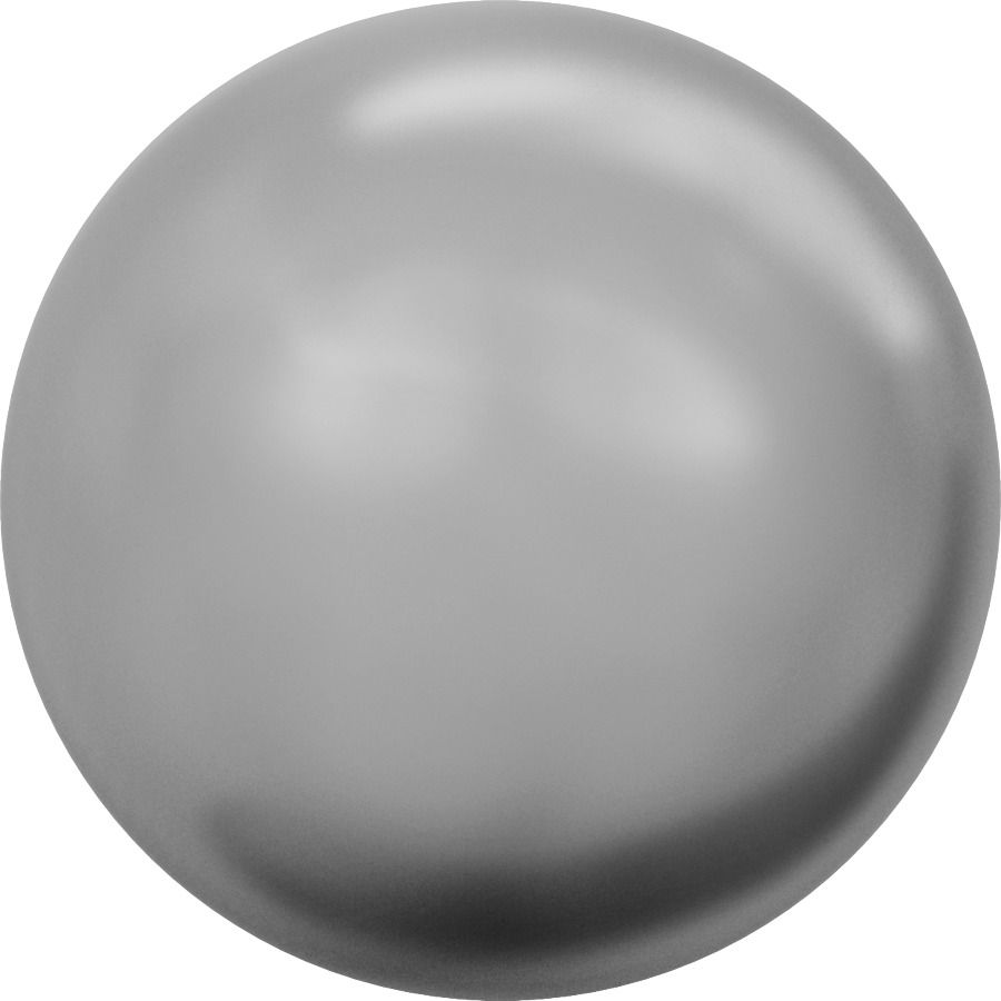Ronde nacrée 5810 6mm Crystal Grey Pearl x10 Swarovski