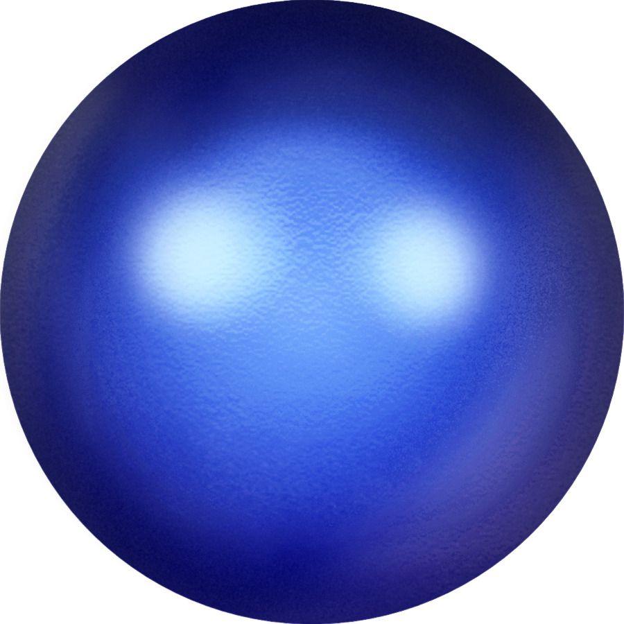 Ronde nacrée 5810 6mm Crystal Iridescent Dark Blue Pearl x10 Swarovski