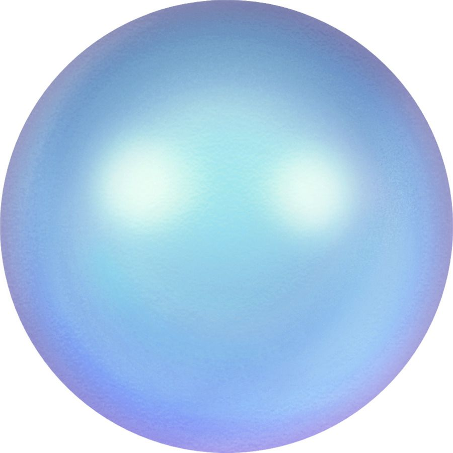 Ronde nacrée 5810 6mm Crystal Iridescent Light Blue Pearl x10 Swarovski
