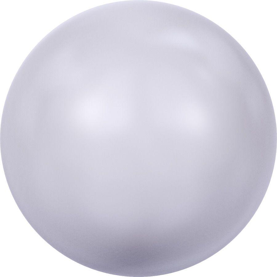 Ronde nacrée 5810 6mm Crystal Lavender Pearl x10 Swarovski