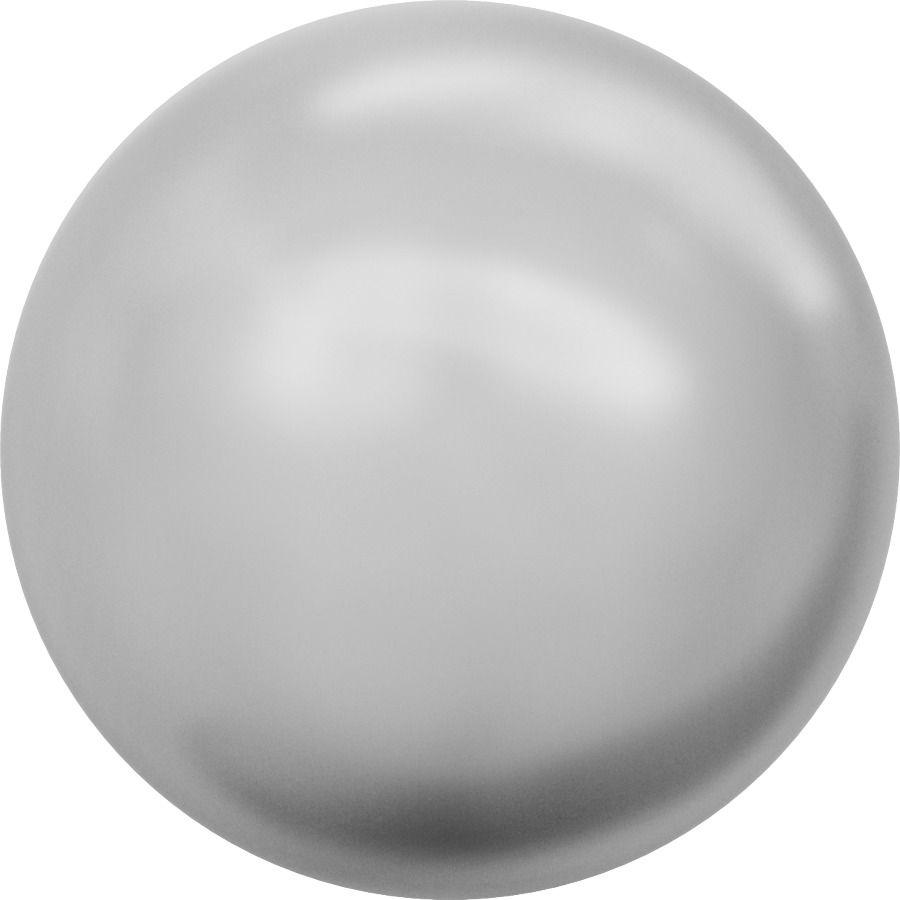Ronde nacrée 5810 6mm Crystal Light Grey Pearl x10 Swarovski