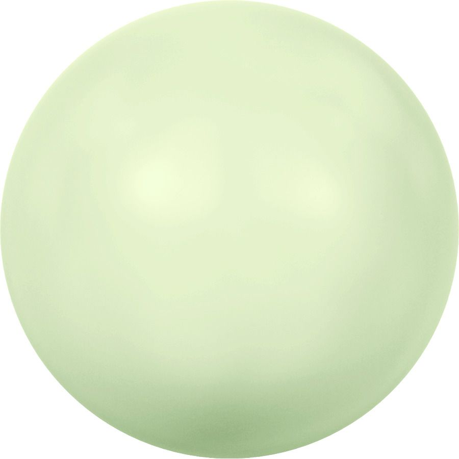 Ronde nacrée 5810 6mm Crystal Pastel Green Pearl x10 Swarovski
