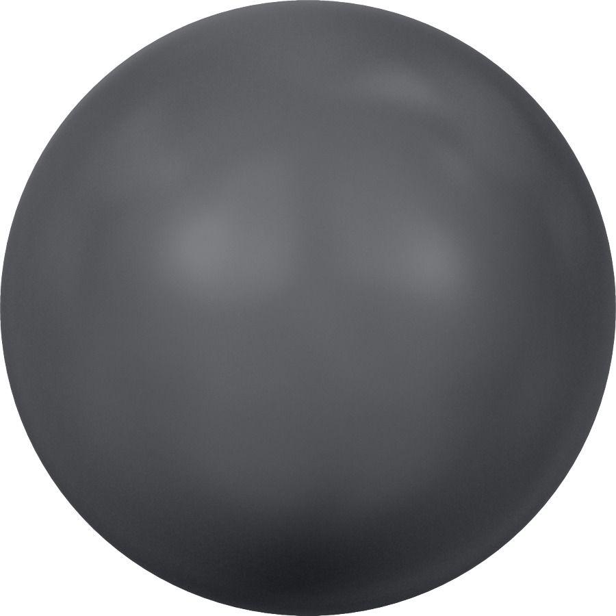 Ronde nacrée 5810 8mm Crystal Dark Grey Pearl x5 Swarovski