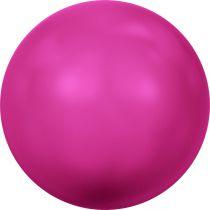 Ronde nacrée 5810 8mm Crystal Neon Pink Pearl x5 Swarovski
