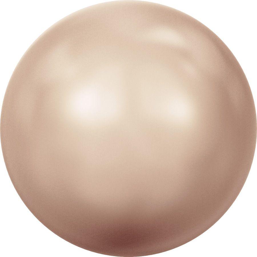 Ronde nacrée 5810 8mm Crystal Rose Gold Pearl x5 Swarovski
