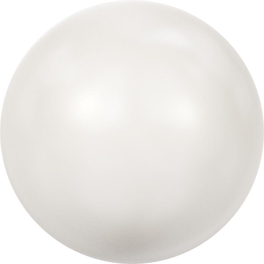 Ronde nacrée 5810 8mm Crystal White Pearl x5 Swarovski