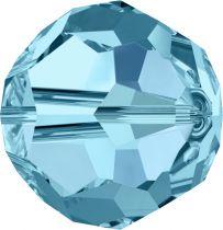 Rondes 5000 Aquamarine 6mm x6 Cristal Swarovski
