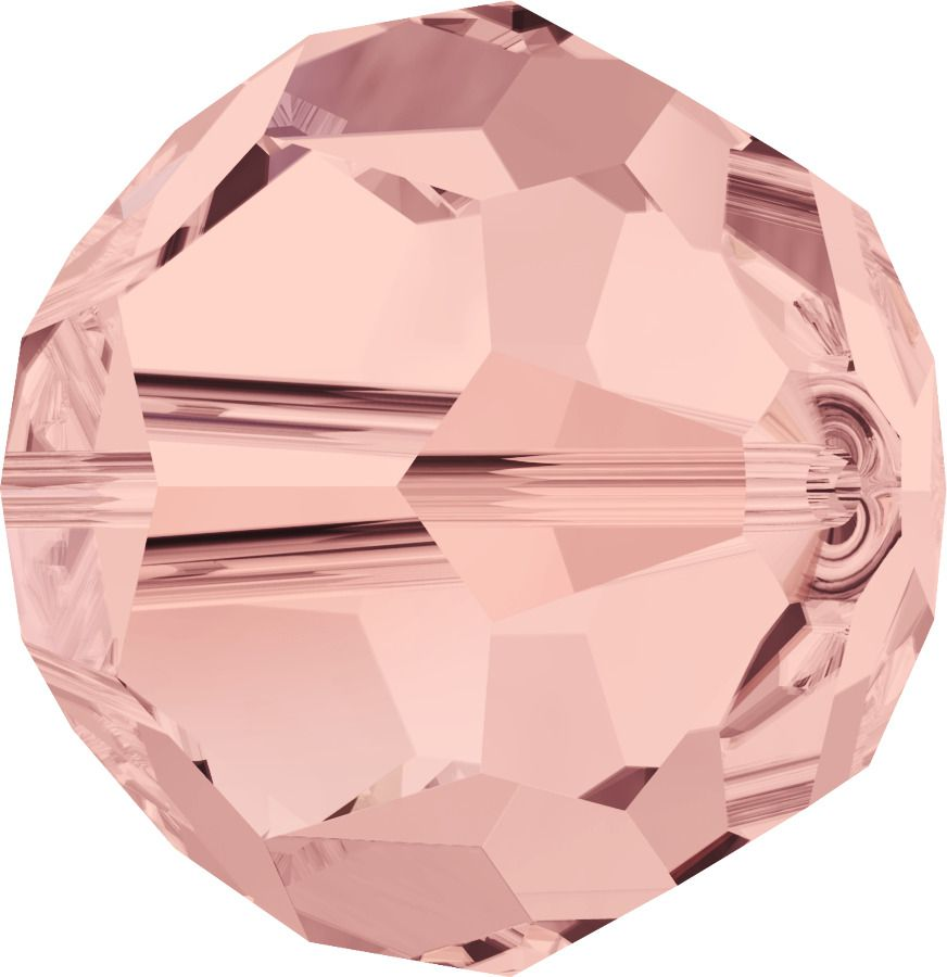 Rondes 5000 Blush Rose 4mm x20 Cristal Swarovski