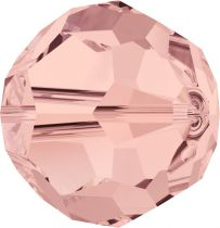 Rondes 5000 Blush Rose 6mm x6 Cristal Swarovski