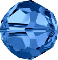 Rondes 5000 Capri Blue 8mm x1 Cristal Swarovski