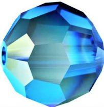 Rondes 5000 Capri Blue AB 8mm x1 Cristal Swarovski