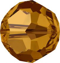Rondes 5000 Crystal Copper 6mm x6 Cristal Swarovski
