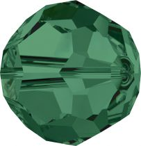 Rondes 5000 Emerald 6mm x6 Cristal Swarovski