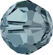 Rondes 5000 Indian Sapphire 6mm x6 Cristal Swarovski