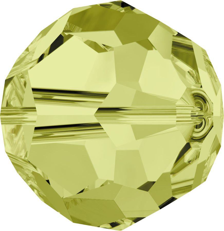 Rondes 5000 Jonquil 6mm x6 Cristal Swarovski