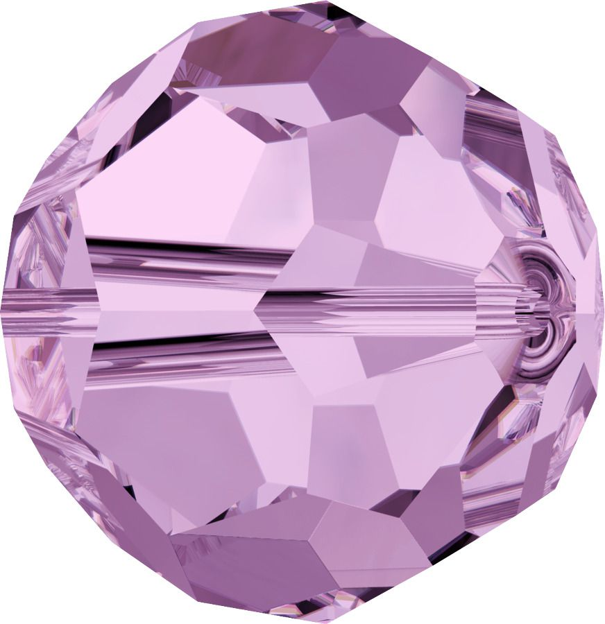 Rondes 5000 Light Amethyst 8mm x1 Cristal Swarovski
