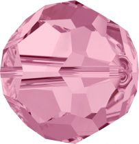 Rondes 5000 Light Rose 8mm x1 Cristal Swarovski