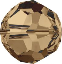 Rondes 5000 Light Smoked Topaz 8mm x1 Cristal Swarovski