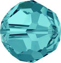 Rondes 5000 Light Turquoise 6mm x6 Cristal Swarovski