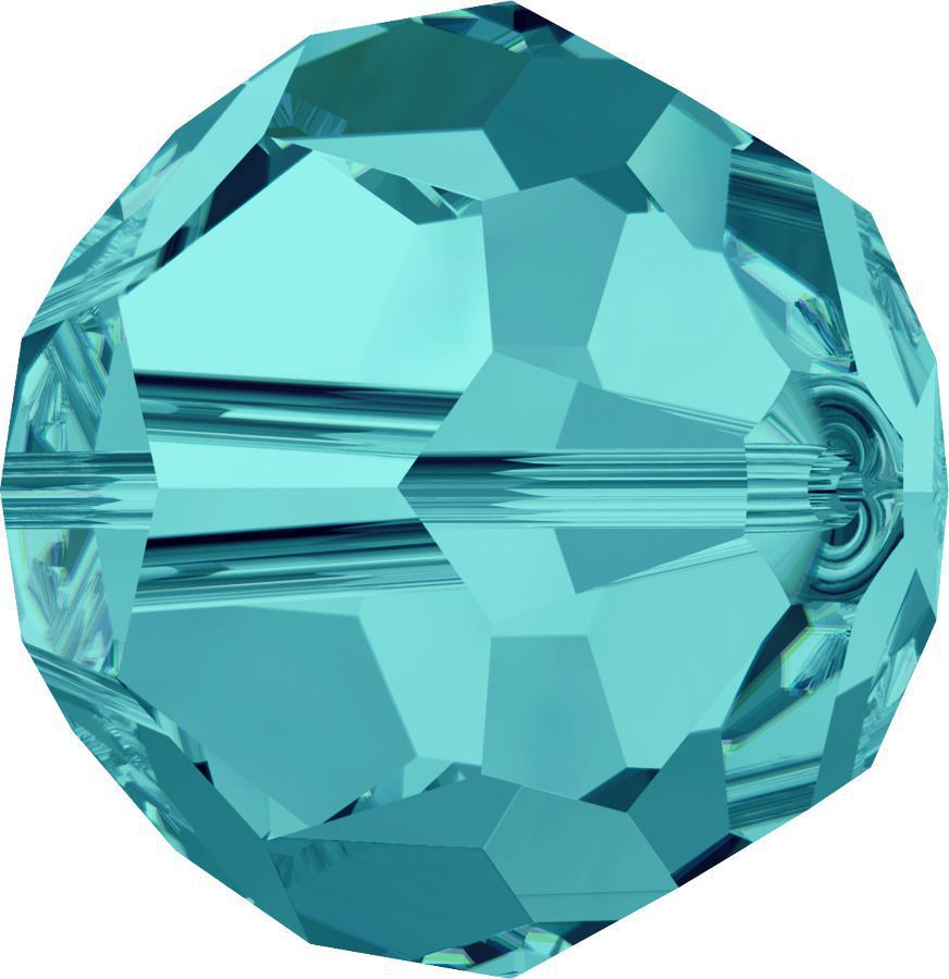 Rondes 5000 Light Turquoise 8mm x1 Cristal Swarovski