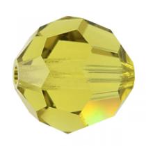 Rondes 5000 Lime AB 4mm x20 Cristal Swarovski