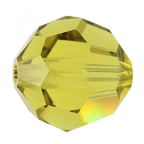 Rondes 5000 Lime AB 6mm x6 Cristal Swarovski