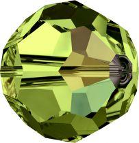 Rondes 5000 Olivine AB 6mm x6 Cristal Swarovski