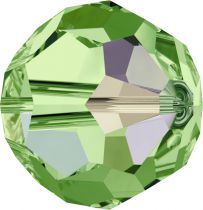 Rondes 5000 Peridot AB 6mm x6 Cristal Swarovski