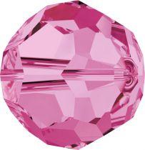 Rondes 5000 Rose 6mm x6 Cristal Swarovski