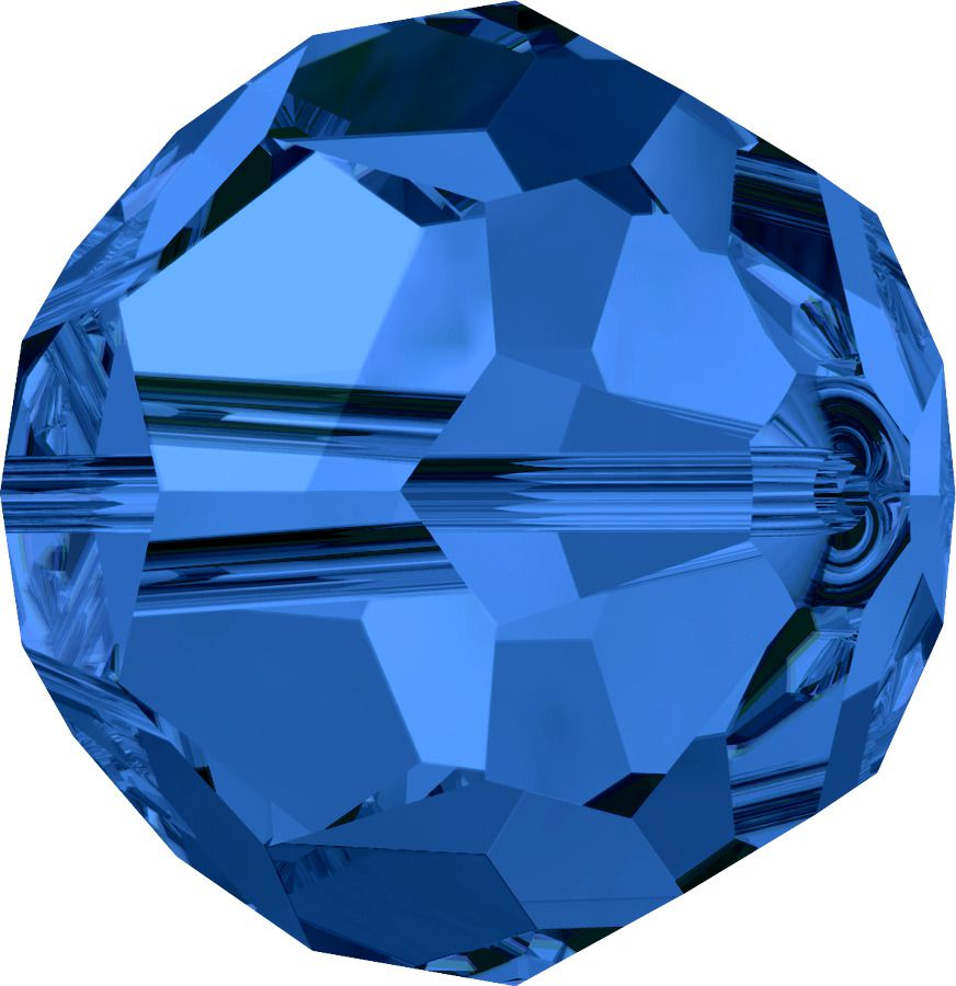 Rondes 5000 Sapphire 6mm x6 Cristal Swarovski