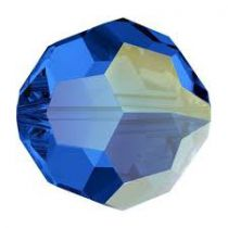 Rondes 5000 Sapphire AB 8mm x1 Cristal Swarovski