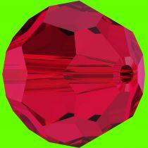 Rondes 5000 Scarlet 4mm x20 Cristal Swarovski