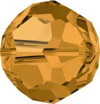 Rondes 5000 Topaz 6mm x6 Cristal Swarovski