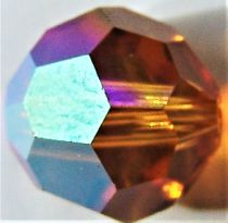 Rondes 5000 Topaz AB 8mm x1 Cristal Swarovski