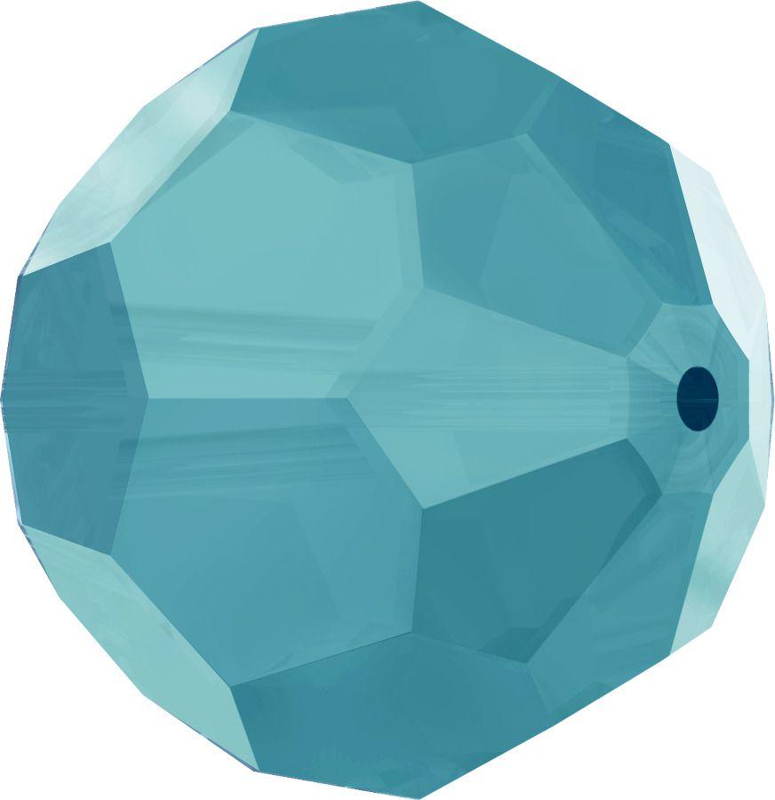 Rondes 5000 Turquoise 6mm x6 Cristal Swarovski