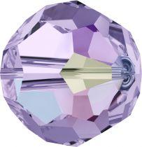 Rondes 5000 Violet AB 4mm x20 Cristal Swarovski