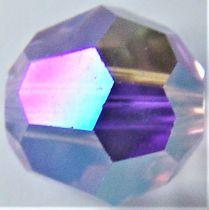 Rondes 5000 Violet AB 8mm x1 Cristal Swarovski