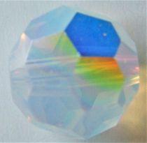Rondes 5000 White Opal AB 8mm x1 Cristal Swarovski