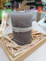 Ruban dentelle ivoire adhesif 1cmx2m