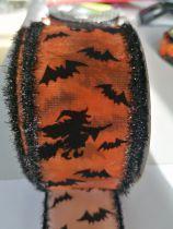 Ruban Halloween Sorcière Largeur 6CM vendu au mètre