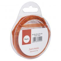 Ruban organdi orange 7mm -10m