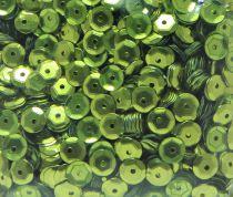 Sequins paillettes bombés rayher 6mm olive 4000 pièces