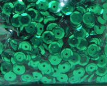 Sequins paillettes bombés rayher 6mm vert foncé 4000 pièces