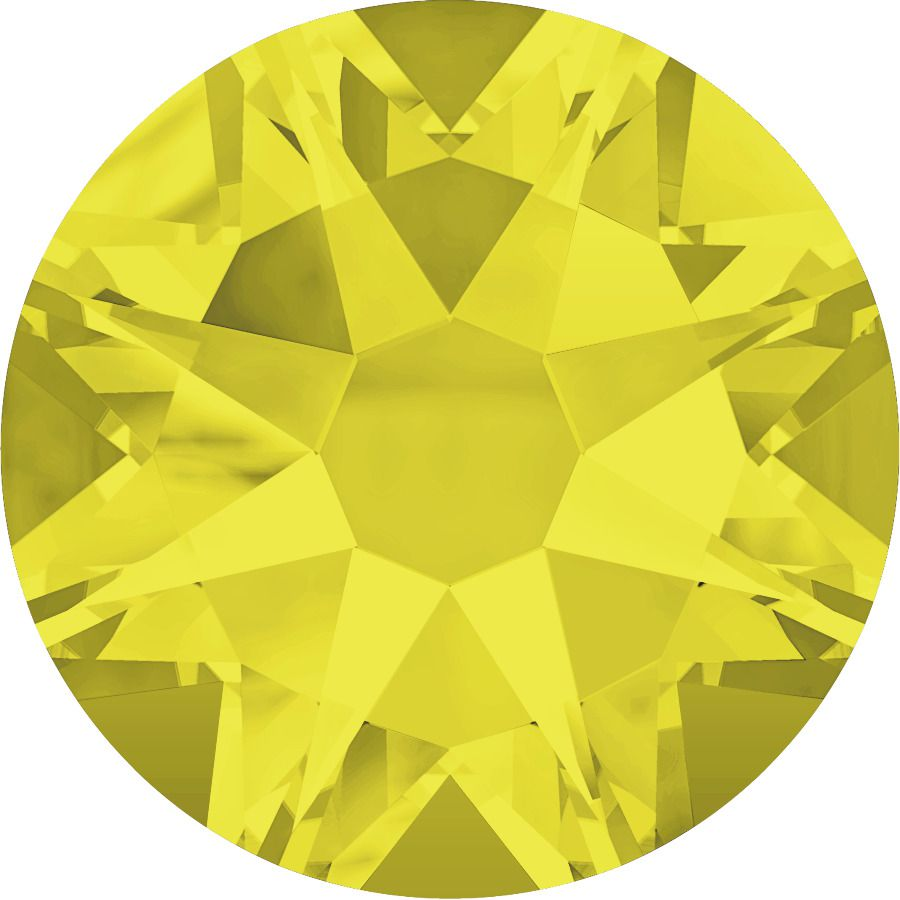 Strass 2028 Citrine 7mm x10 Swarovski