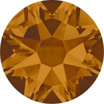 Strass 2028 Citrine Copper 6mm x10 Swarovski