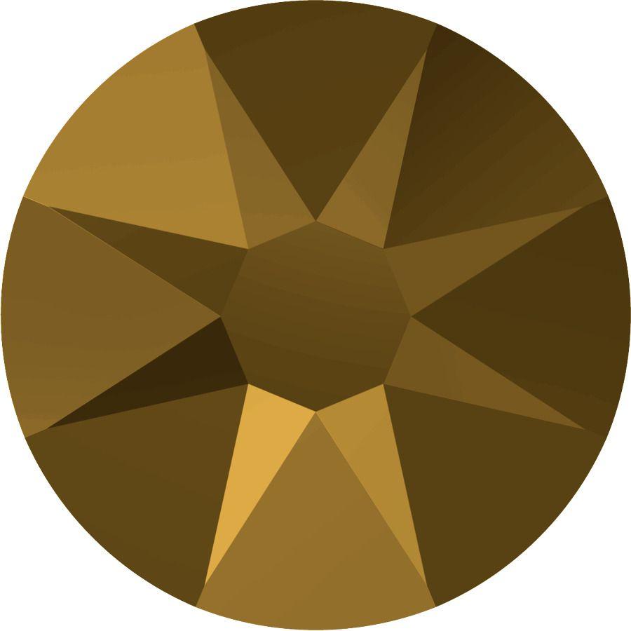 Strass 2028 Crystal Dorado 5mm x30 Swarovski