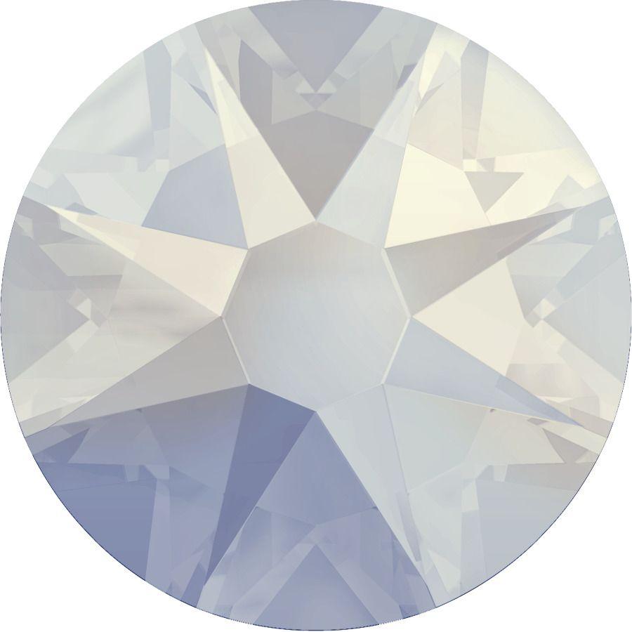 Strass 2028 White Opal 7mm x10 Swarovski